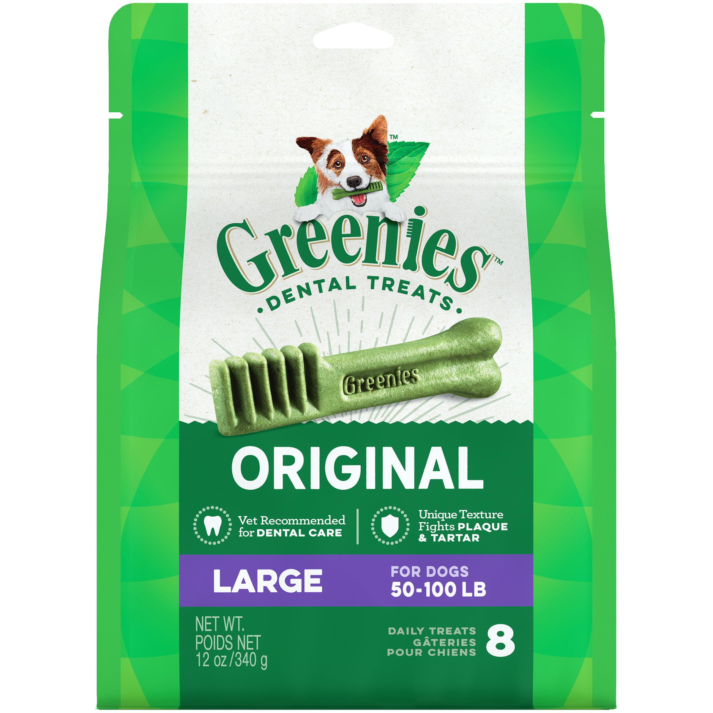 Greenies Dog Dental Chew Treats Large
