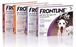 frontline 3 dose
