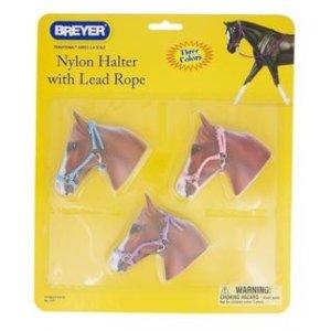Breyer Nylon Halters with Lead Ropes 2474