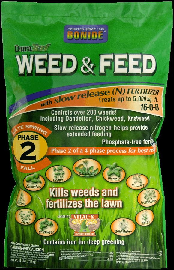 bonide weed and feed