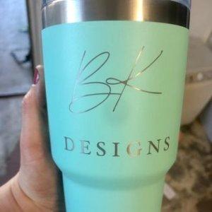 Yeti with custom logo