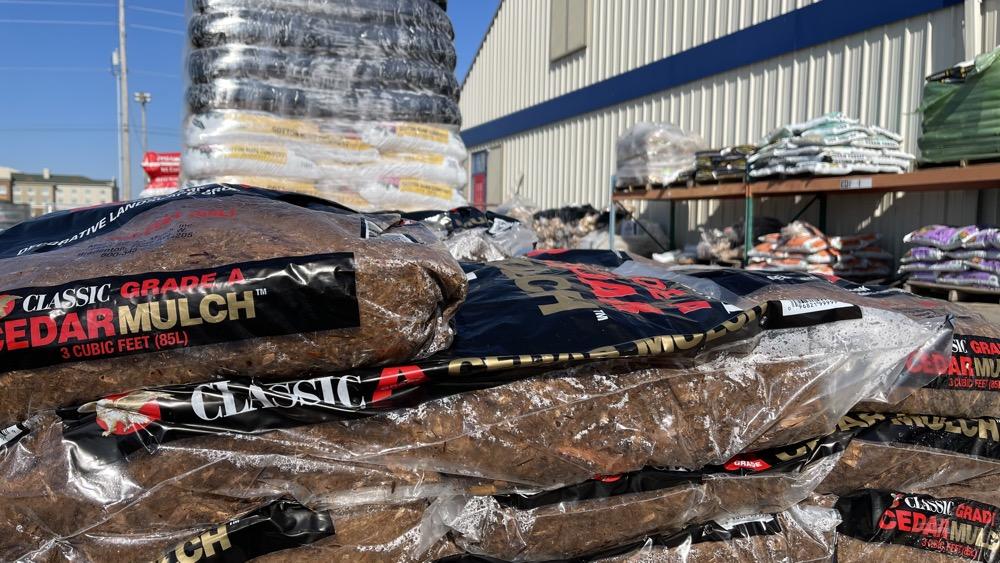cedar mulch for sale in wichita