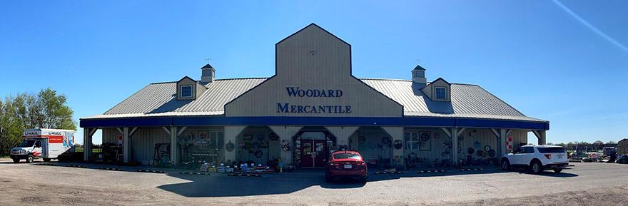 woodard mercentile store front maine